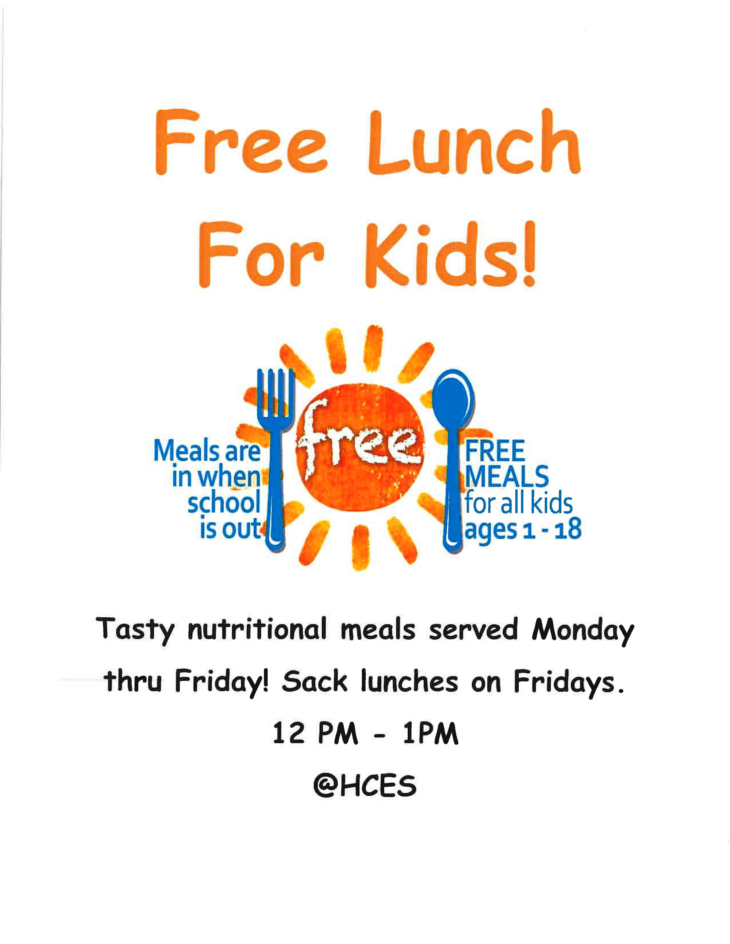Free Lunch for Kids